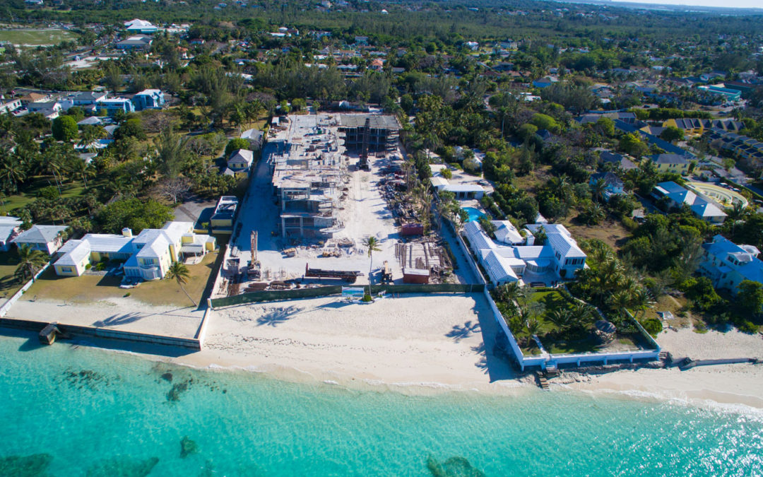 Aristo's Oceanfront Bahamas Property Taking Shape