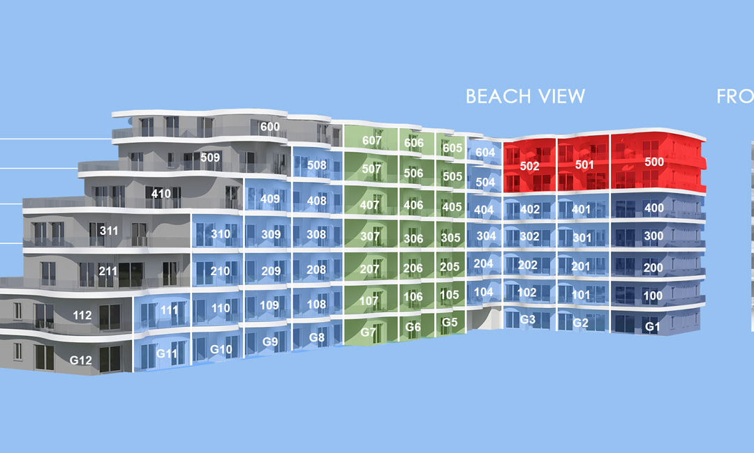 One Cable Beach Releases Stacking Plan Update for Its Luxury Condos